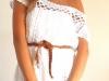 Короткие вязанные платья