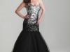 Черное платье на выпускной 2013 для полных