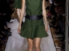 Короткое темно-зеленое платье Yves Saint Laurent