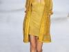Короткое желтое платье Akris Весна-Лето 2013