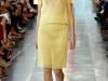 Прозрачное желтое платье от Christopher Kane Весна-Лето 2013