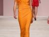 Длинное вечернее желтое платье Ermanno Scervino
