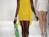 Короткое желтое платье фото, Tracy Reese 2013