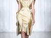 Золотистое вечернее платье Zac Posen 2014 фото