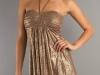 Короткое золотое платье 2012