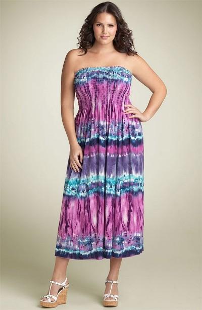 2645f32ff468af7 Летние платья 2011 для полных | Вечерние платья