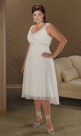 Летние платья для полных белые