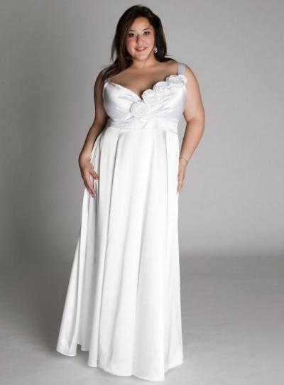 Свадебные платья для большой груди