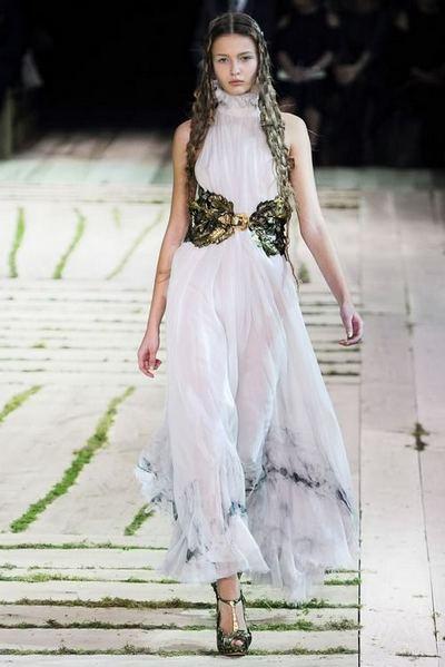 Греческие летние платья 2011