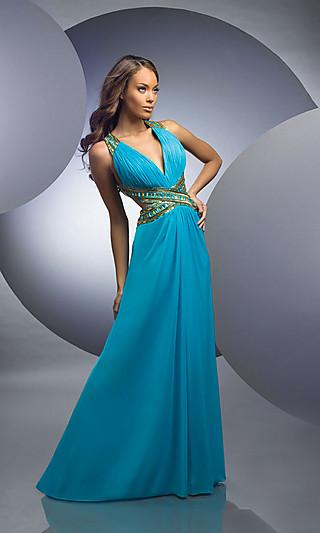 Выпускные длинные платья 2011 фото