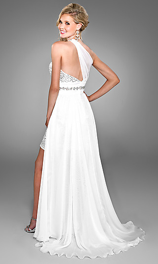 Свадебное платье на одно плечо