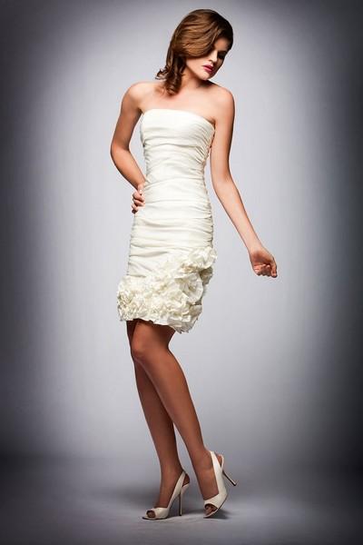 Короткие платья для подружек невесты