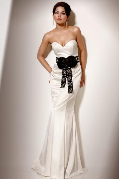 Белое платье для подружки невесты