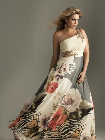 Вечерние платья для полных фото