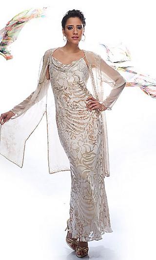 Платье с жакетом Дайан Фрайс