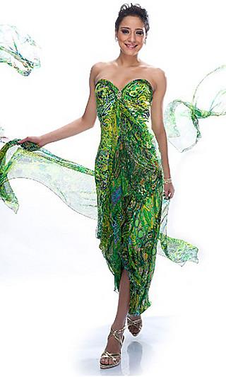 Коллекция платьев весна-лето 2011