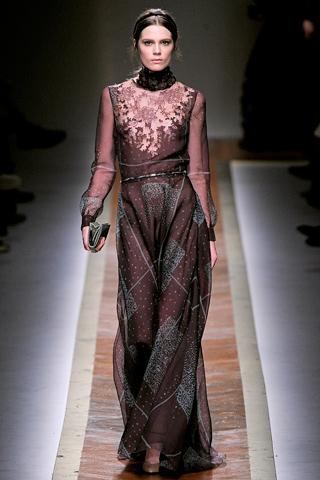 Длинные платья Valentino
