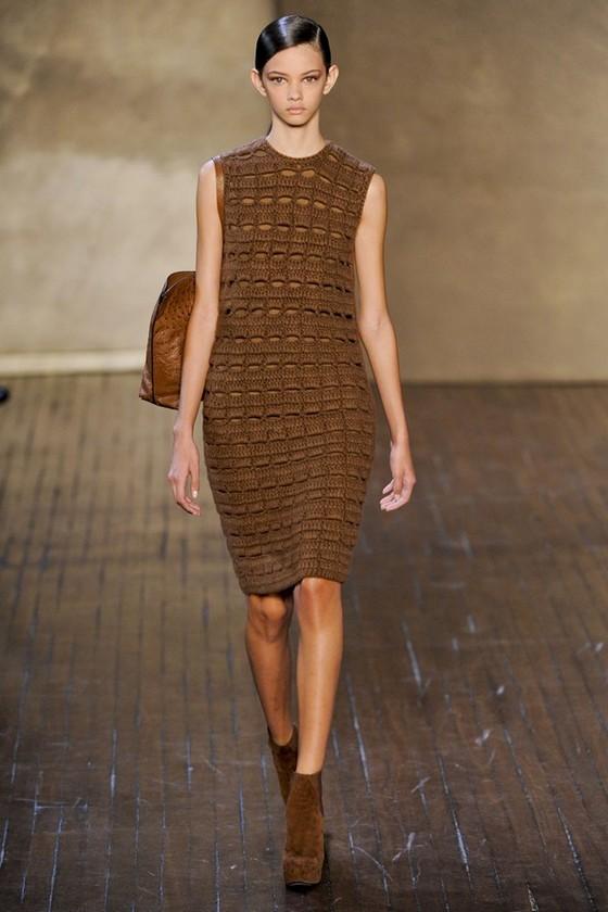 Вязаное платье Осень-Зима 2011-2012 Akris