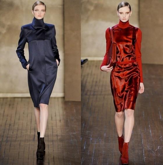 Платье-футляр Осень-Зима 2011-2012 от Akris