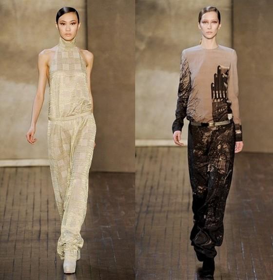 Платья-комбинезоны от Akris, коллекция Осень-Зима 2011-2012