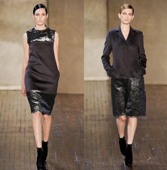 Платье-футляр и платье-пальто от Akris