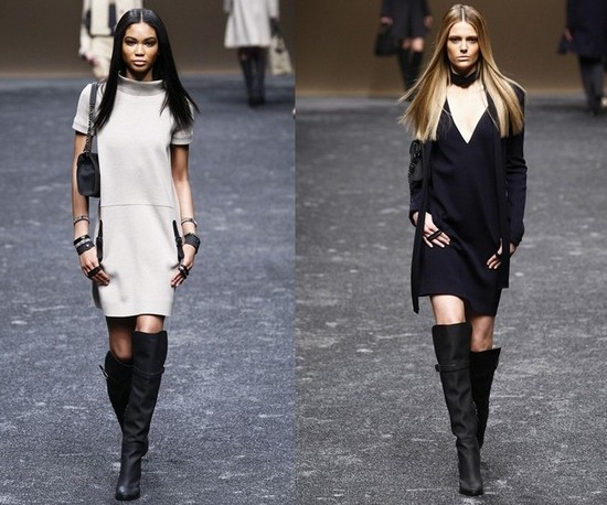 Blumarine - модные платья осень-зима 2011-2012