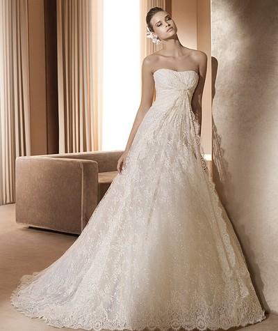 Кружевные свадебные платья Elie Saab