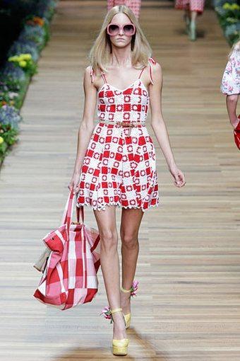 Вязаное платье лето 2011 - Dolce&Gabbana