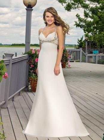 Пляжные свадебные платья фото