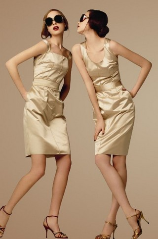 Шелковые коктейльные платья