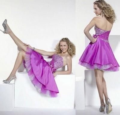 Платья с корсетом на выпускной