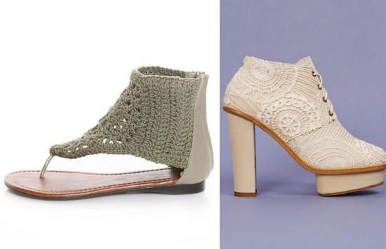 Вязаная обувь 2011