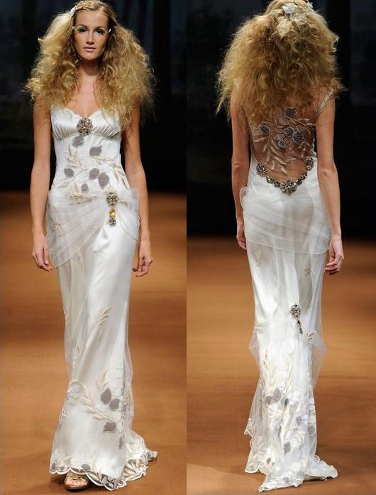 Свадебные платья ivory 2011-2012 от Claire Pettibone