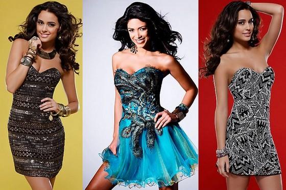 Клубные платья-бюстье