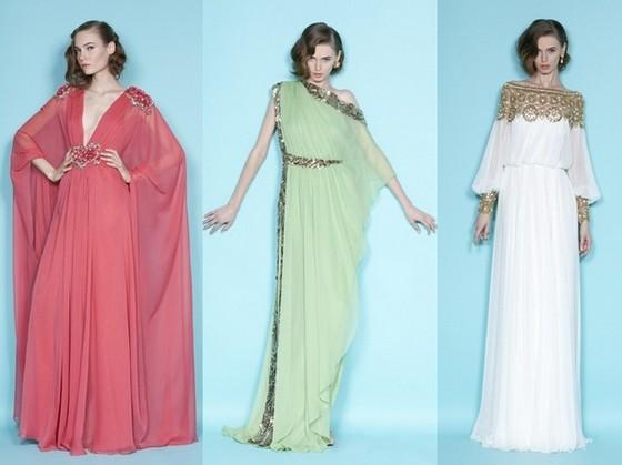 Вечерние платья Marchesa