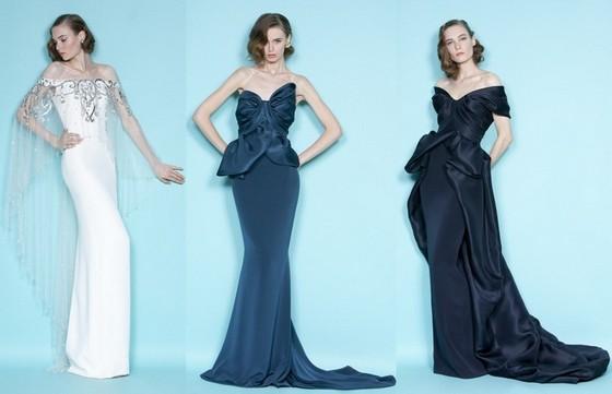 Вечерние платья со шлейфом Весна-Лето 2012 от Маркизы