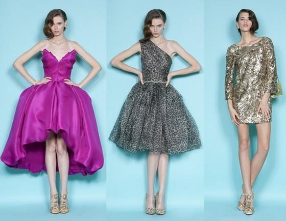 Короткие платья Весна-Лето 2012