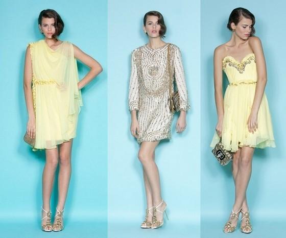 f4f3e9ef7a8 Платья весна-лето 2012 от Маркизы (Marchesa)