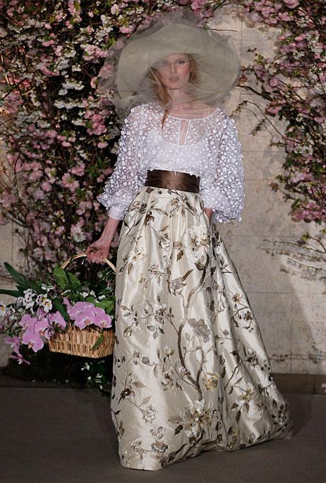Свадебные платья 2012 от Оскар де ла Рента