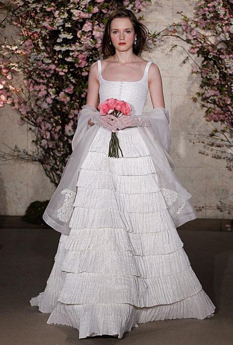 Свадебные платья 2012 - Oscar de la Renta