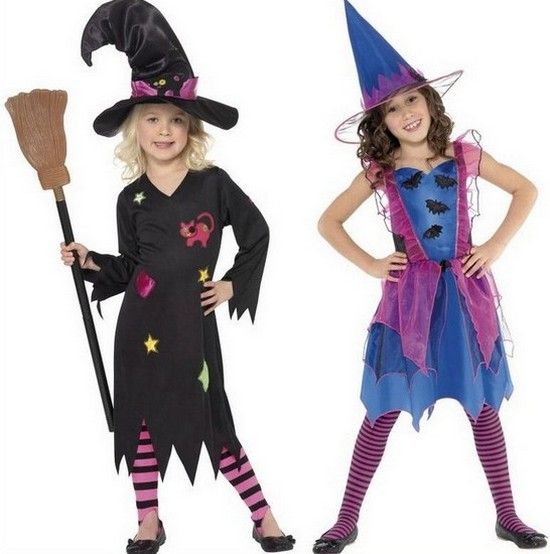 Платье на Хэллоуин для девочек