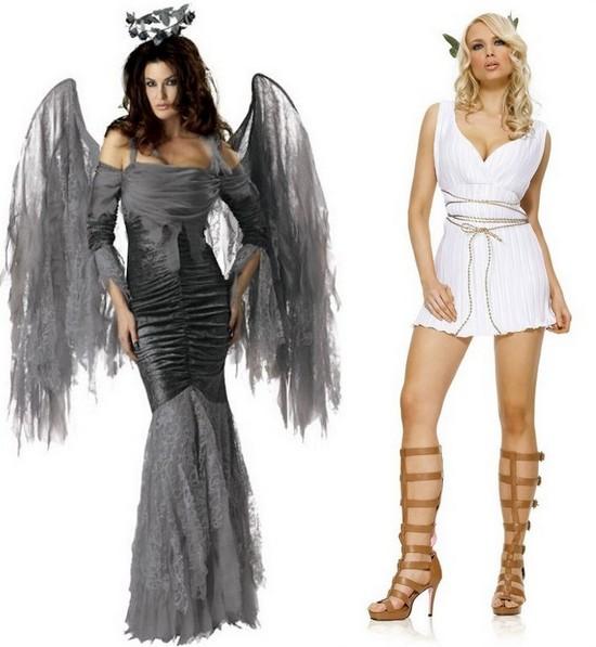 Костюмы ангелов на Хэллоуин