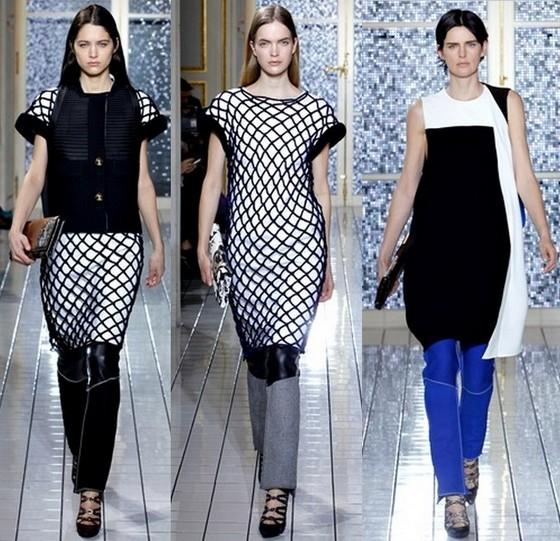 Платье-туника с брюками Balenciaga