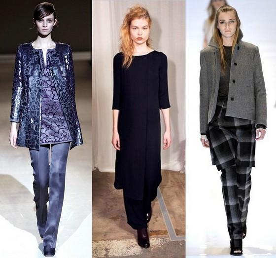 Платье-туника с брюками от Альберты Феретти, Аракс, Дерека Лема