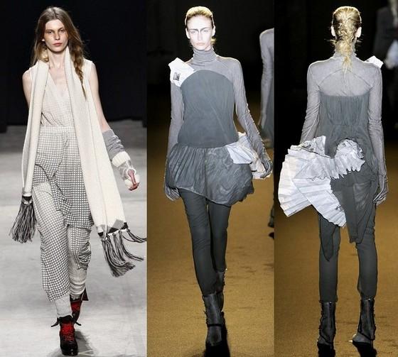 Модные платья-туники 2011-2012 от Бэнд оф Ауйтсайдер и Вандеворс