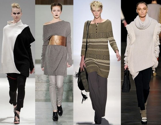 Вязаные платья 2011-2012 от Эллис Палмер, Бенедикте Утсон, Шарлоты Ролсон, Этро