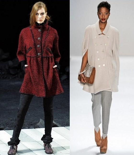 Платья-туники из коллекций Осень-Зима 2011-2012 Chanel, Nanette Lepore
