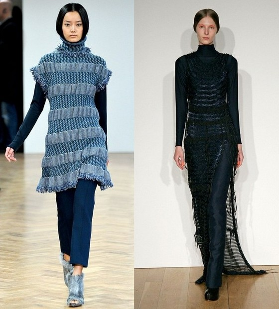 Платья-туники под брюки 2011-2012 Pringle of Scotland, Craig Lawrence