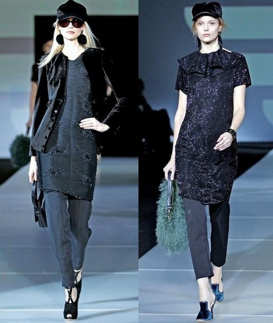 Платья Emporio Armani с брюками
