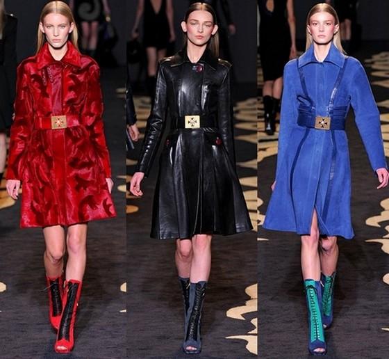 Платье-пальто от Версаче Осень-Зима 2011-2012